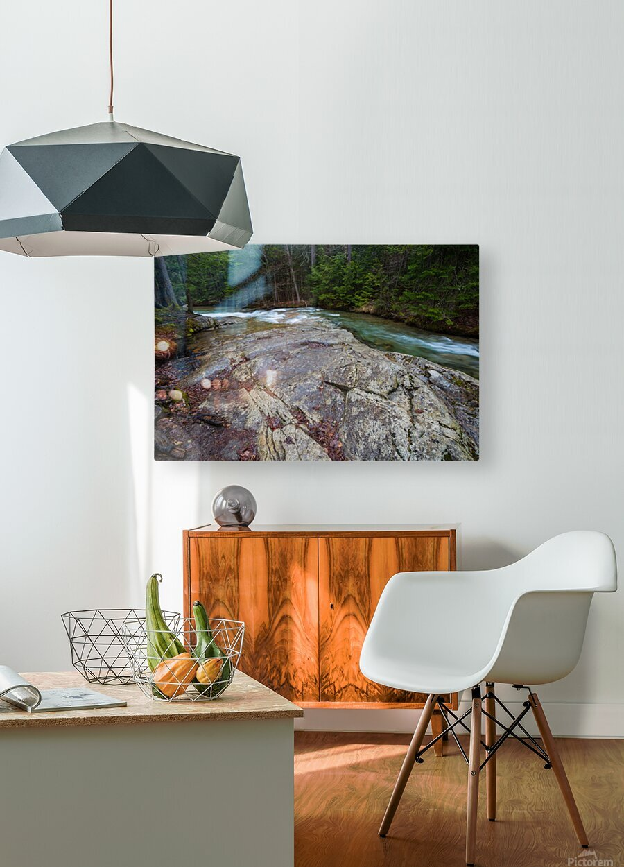 Solid Stone ap 2175  HD Metal print with Floating Frame on Back