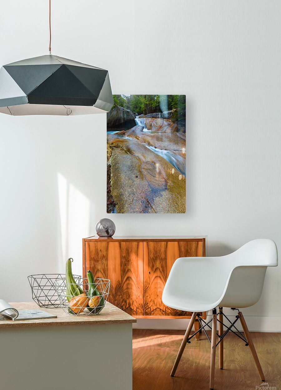 The Basin ap 2162  HD Metal print with Floating Frame on Back