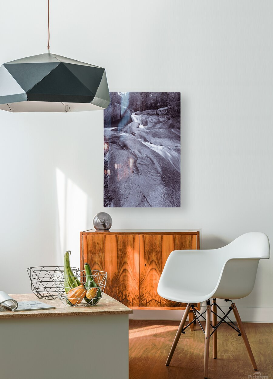 The Basin ap 2162 B&W  HD Metal print with Floating Frame on Back