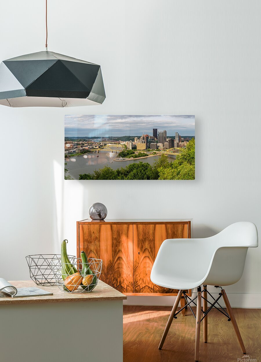 Pittsburgh apmi 1693  HD Metal print with Floating Frame on Back