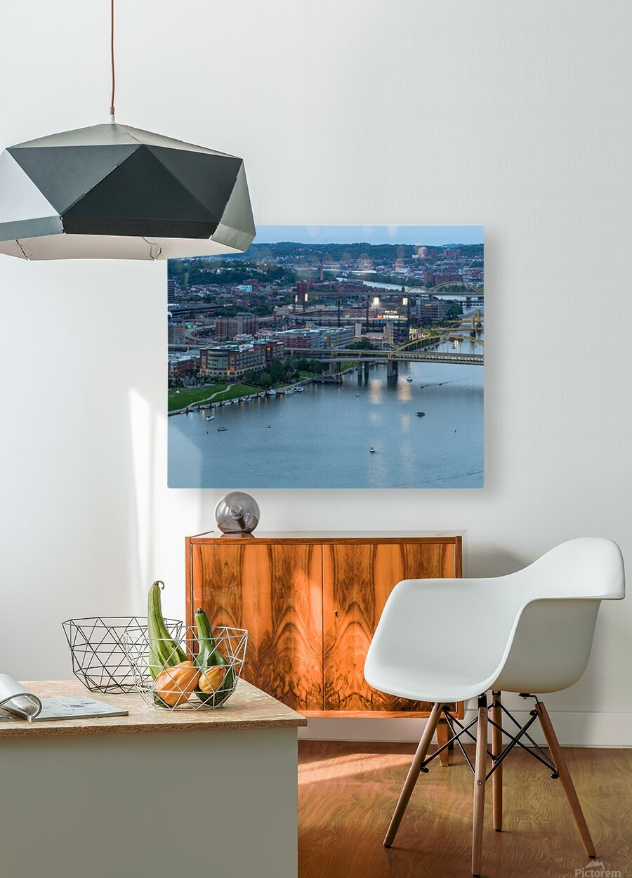 PNC Park apmi 1706  HD Metal print with Floating Frame on Back