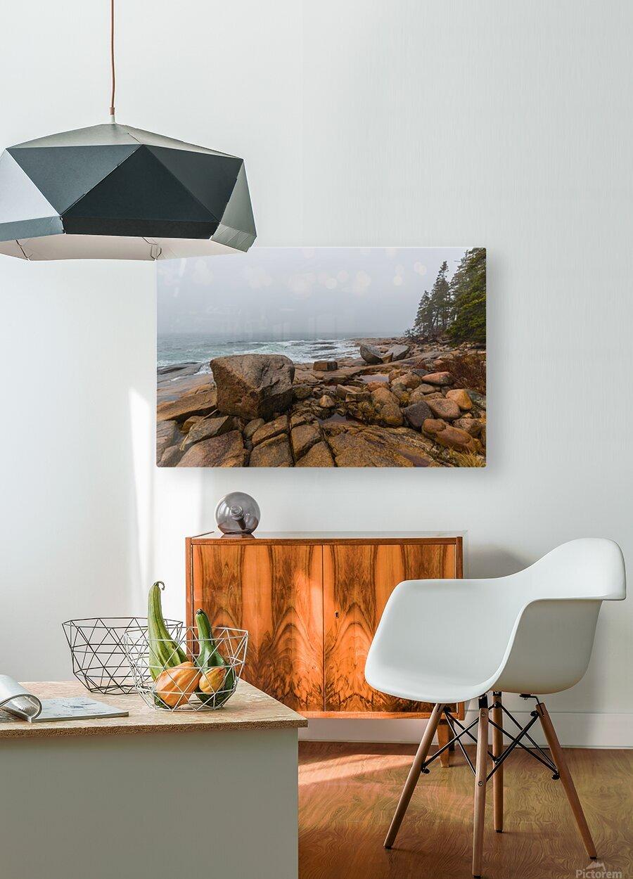 Boulders ap 2254  HD Metal print with Floating Frame on Back