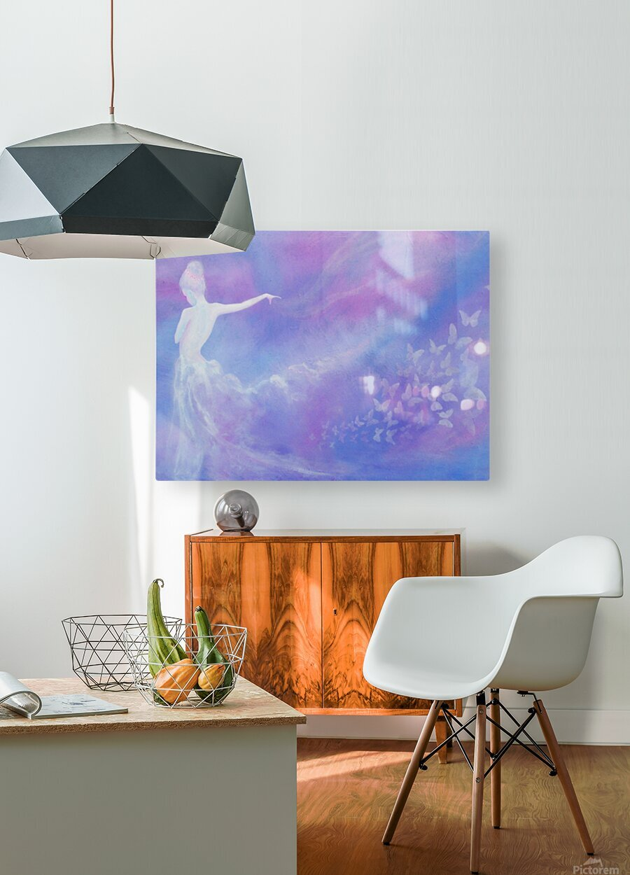 Whispers Of Love  HD Metal print with Floating Frame on Back