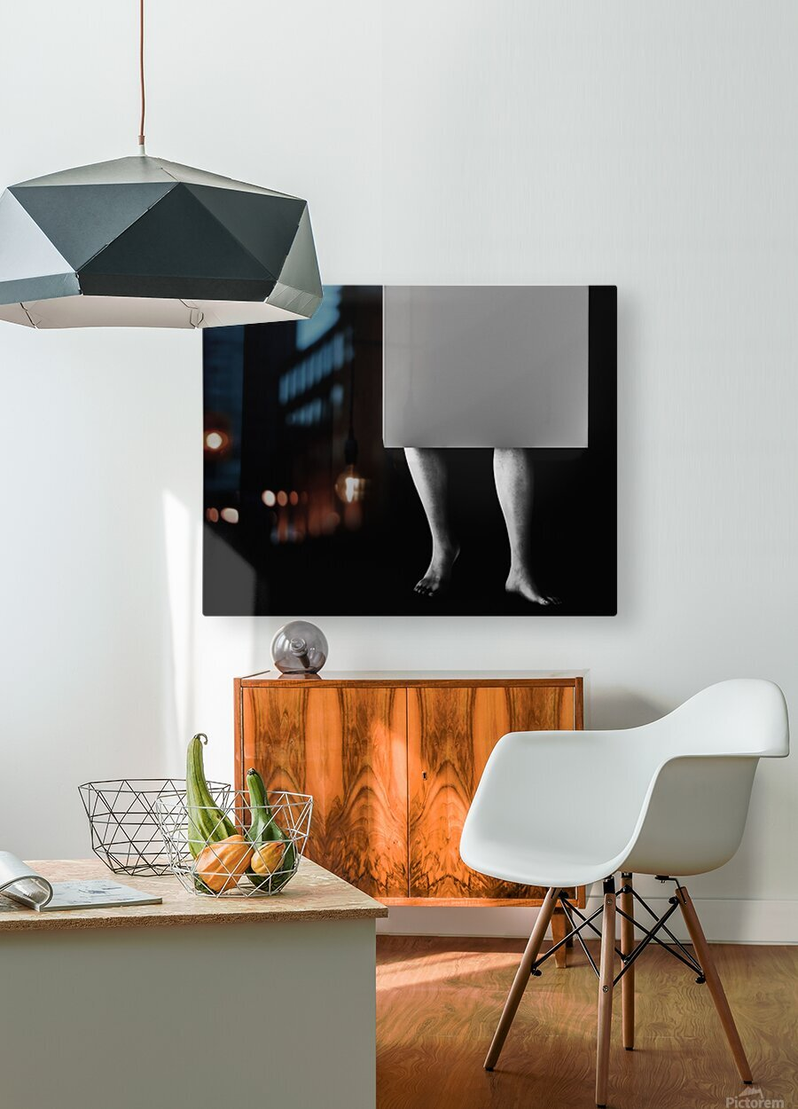 Life In A Box 2  HD Metal print with Floating Frame on Back