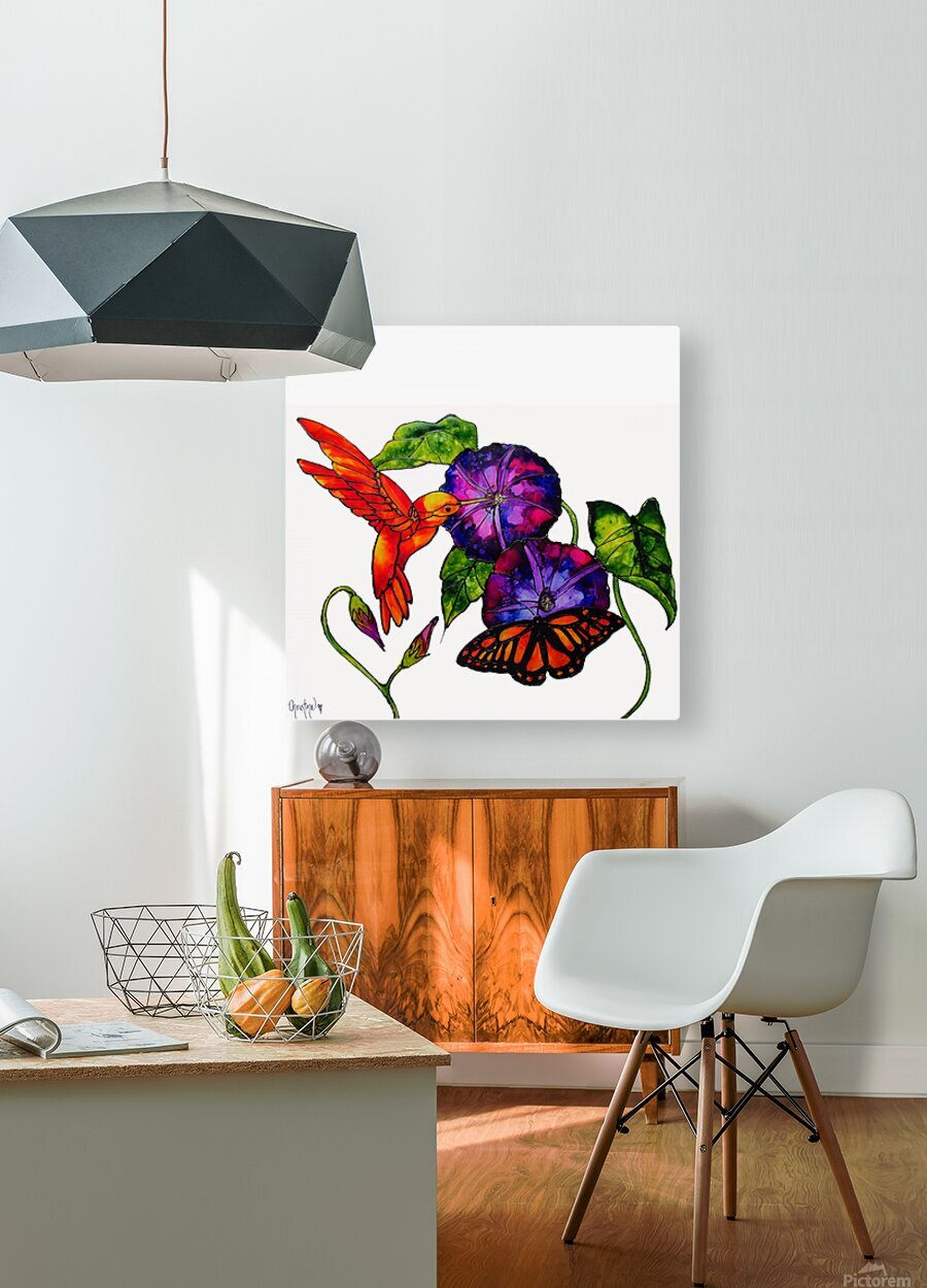 Spring Symphony  HD Metal print with Floating Frame on Back