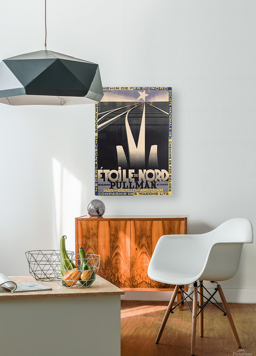 Etoile du Nord  HD Metal print with Floating Frame on Back