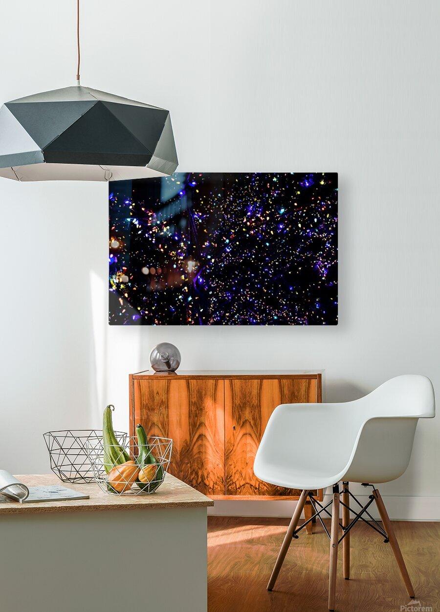 Christmas Stars  HD Metal print with Floating Frame on Back