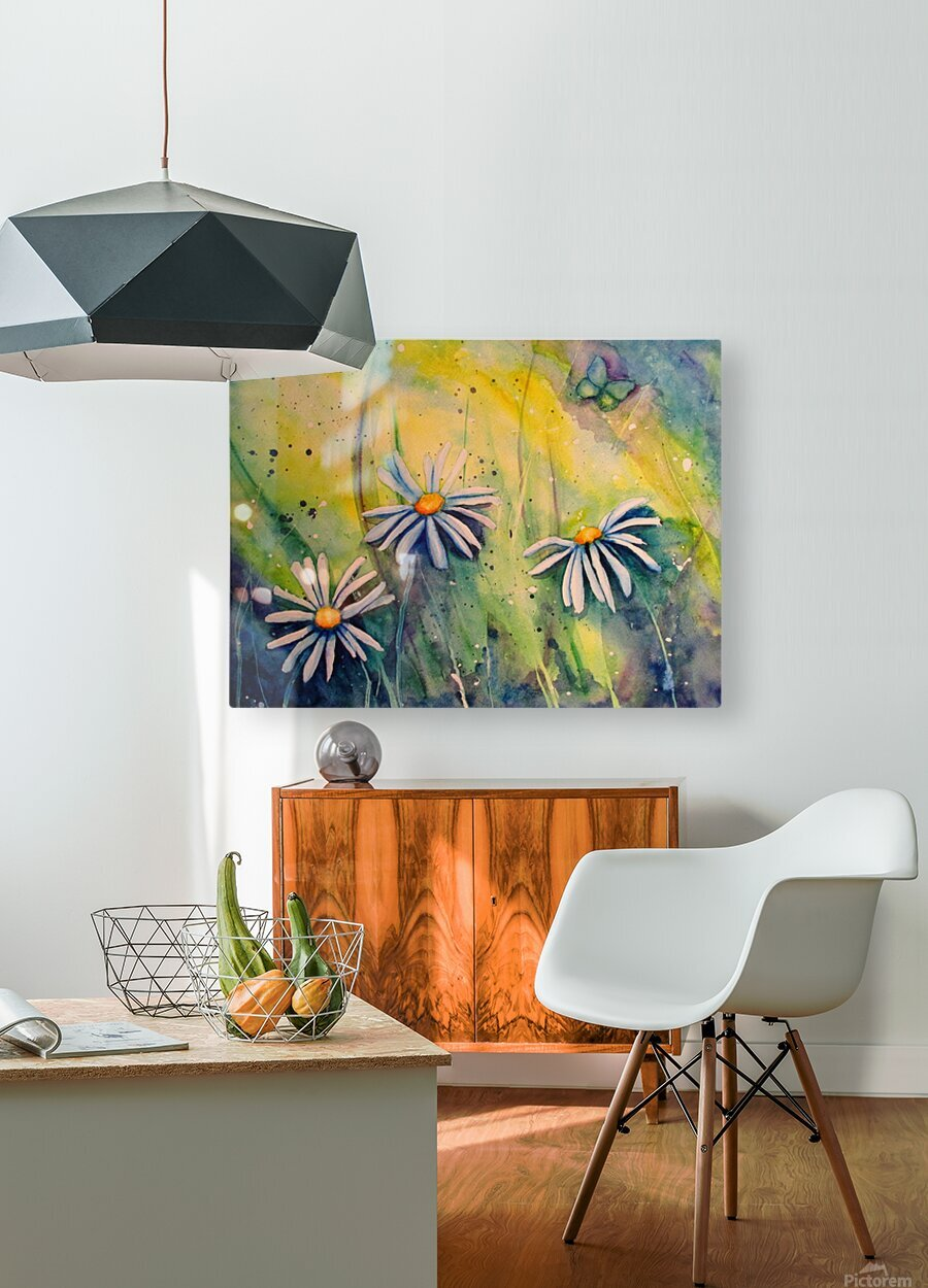 Sunshine   HD Metal print with Floating Frame on Back