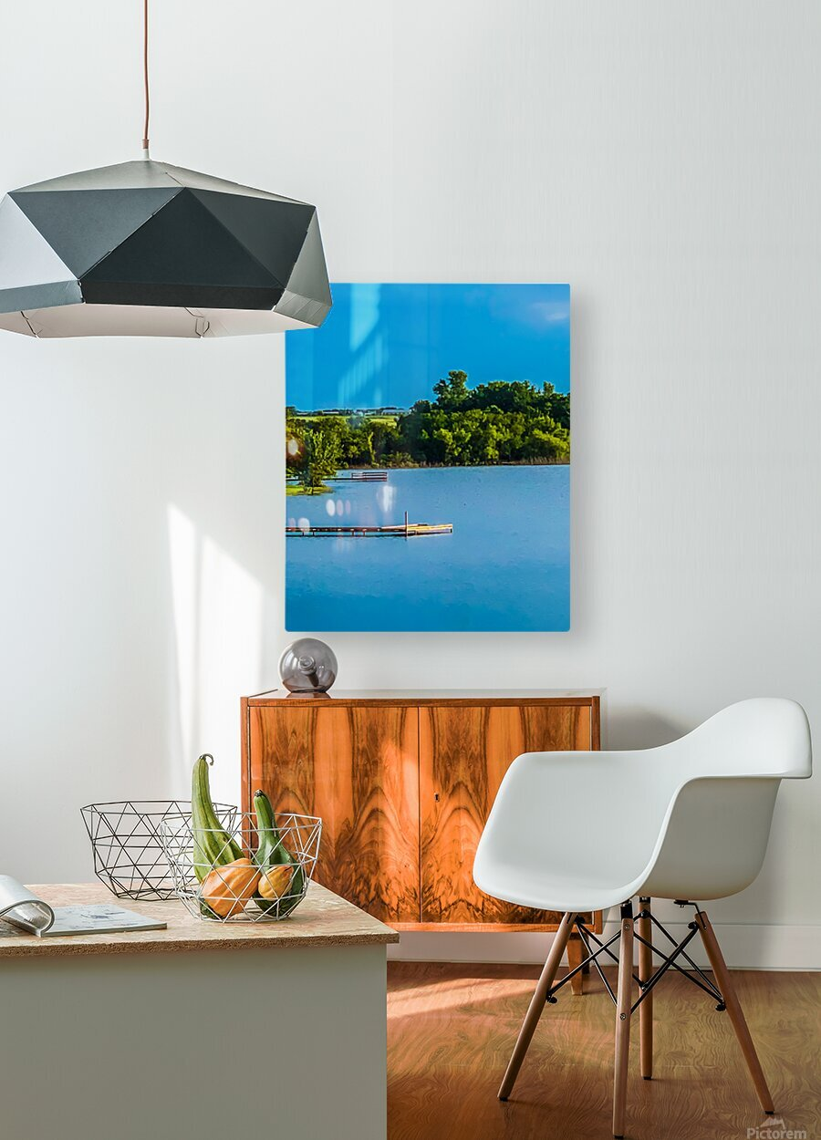 Carries Paradise  HD Metal print with Floating Frame on Back