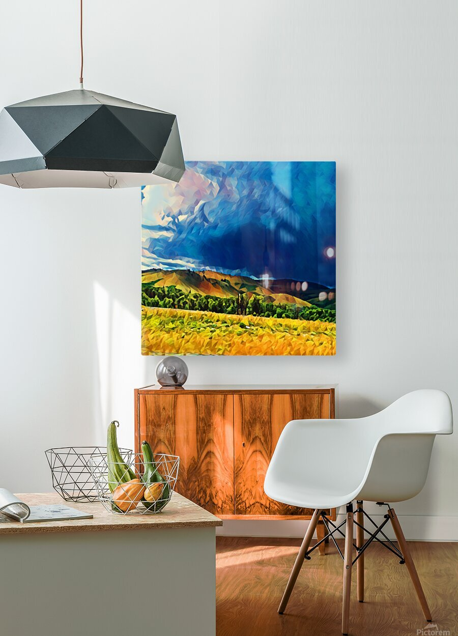 impending storm  HD Metal print with Floating Frame on Back