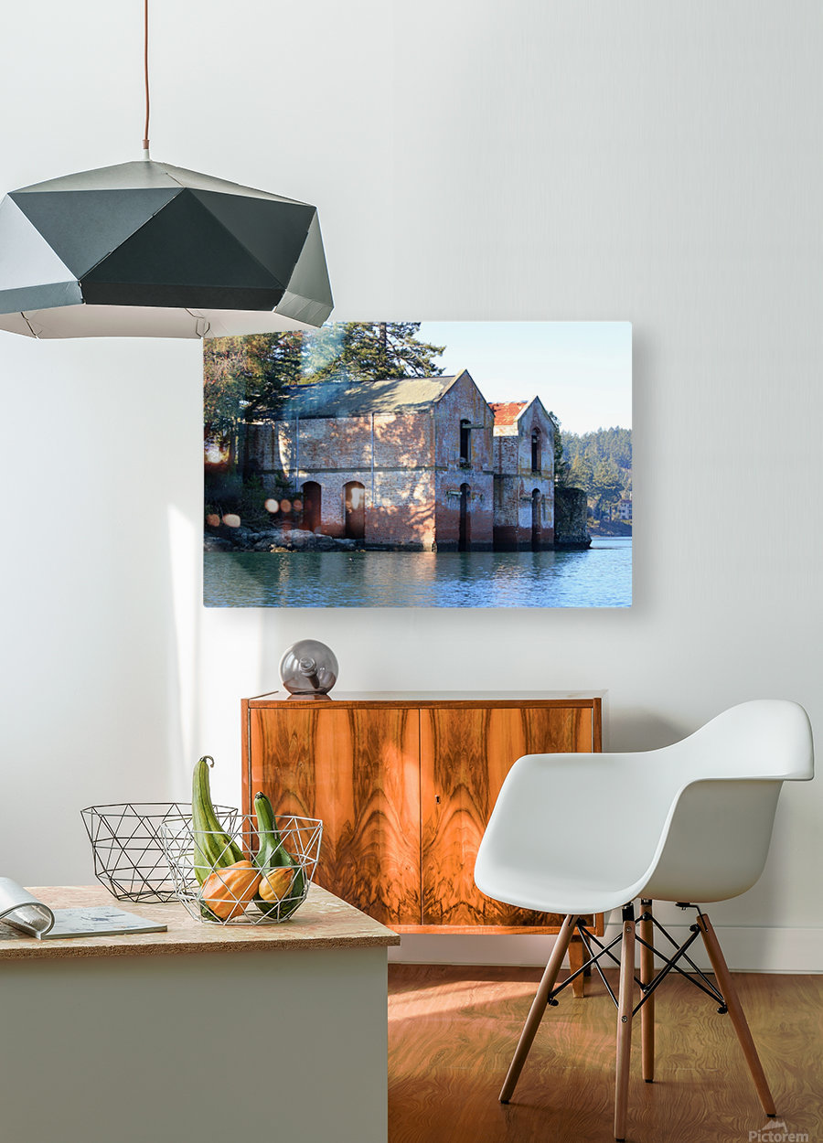 Cole Island (Victoria, BC)  HD Metal print with Floating Frame on Back