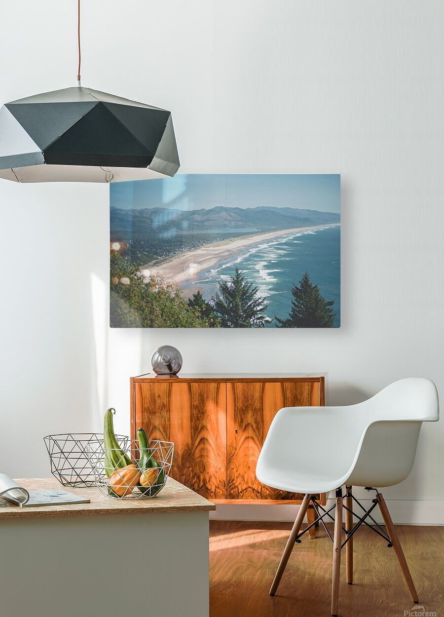 Neahkahnie Beach  HD Metal print with Floating Frame on Back