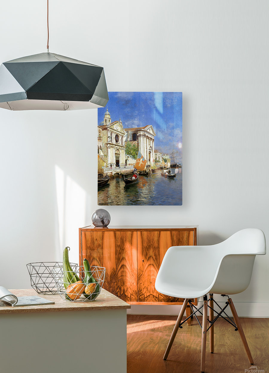 Riva degli Schiavoni  HD Metal print with Floating Frame on Back