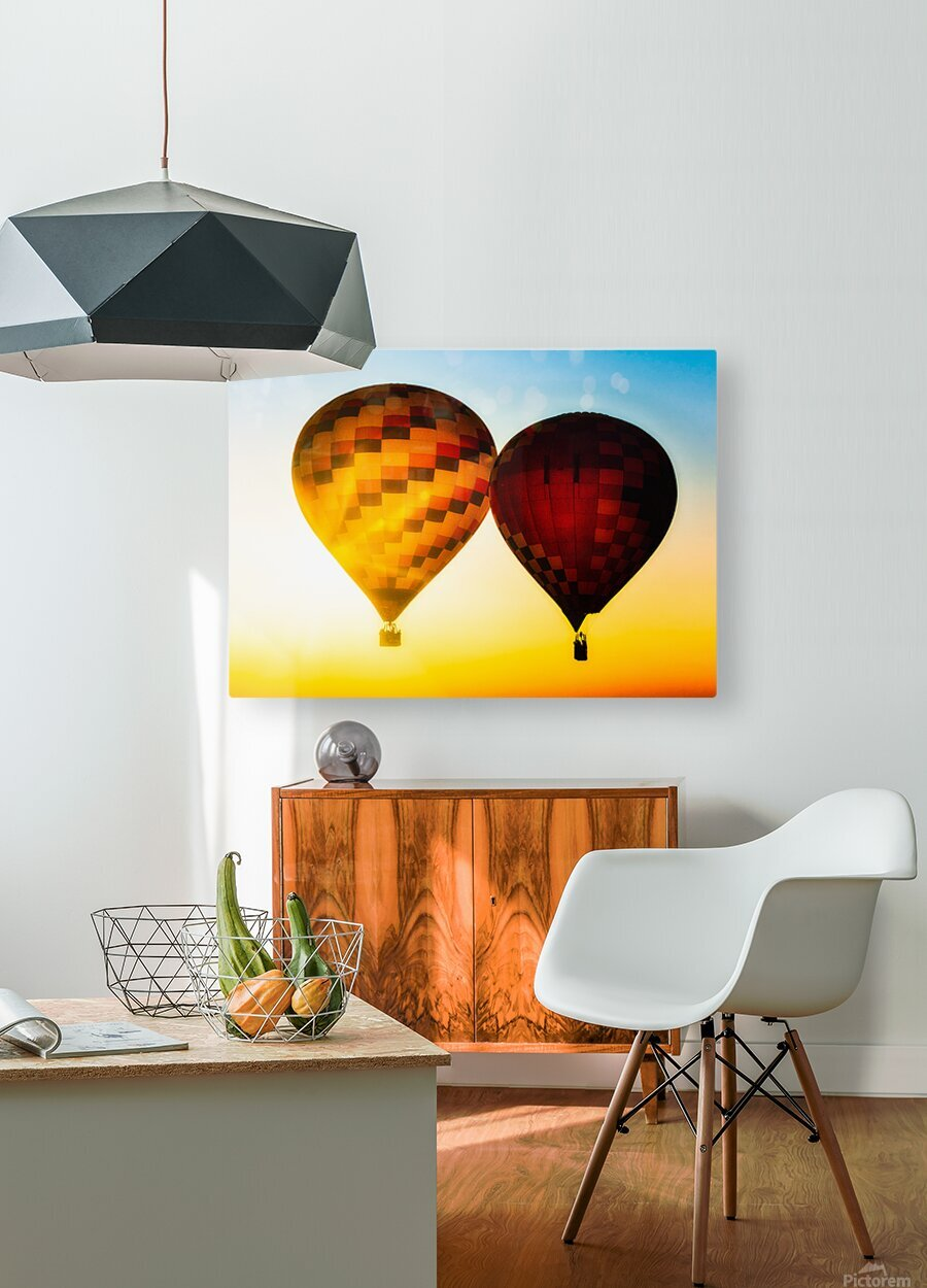 Look Into The Sun  HD Metal print with Floating Frame on Back