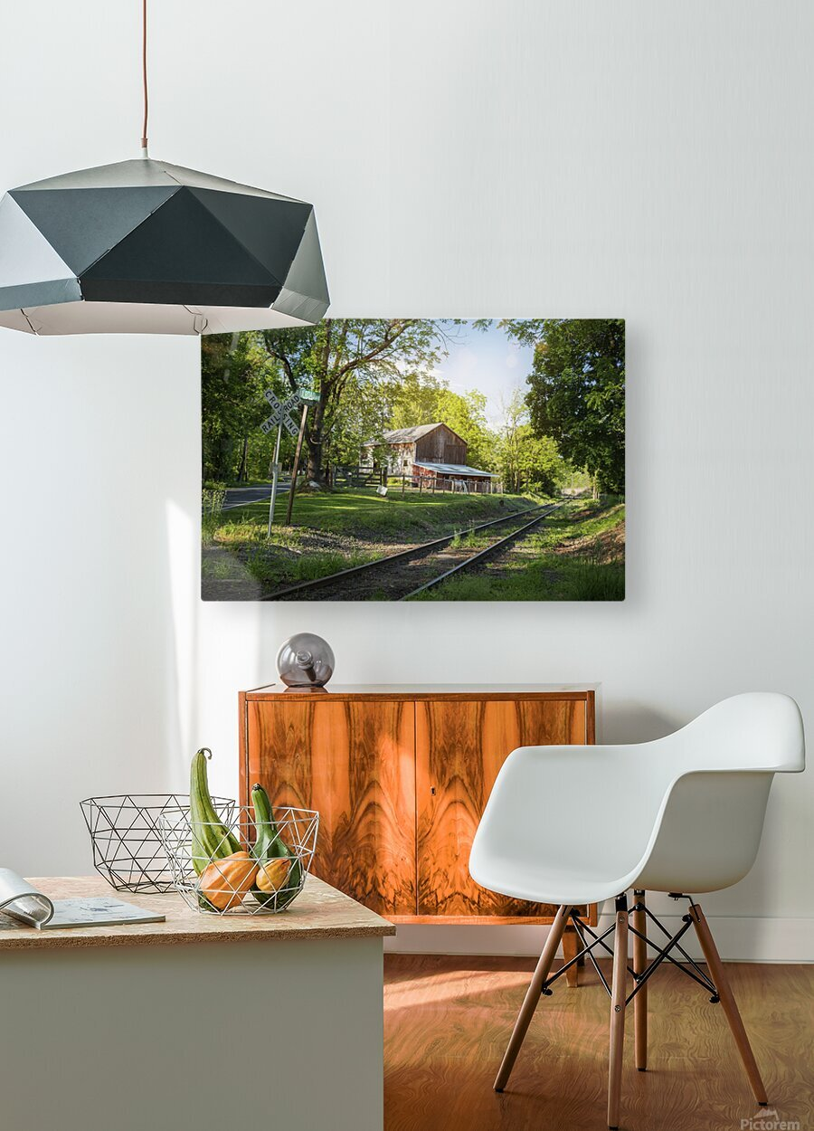 Country Life  HD Metal print with Floating Frame on Back