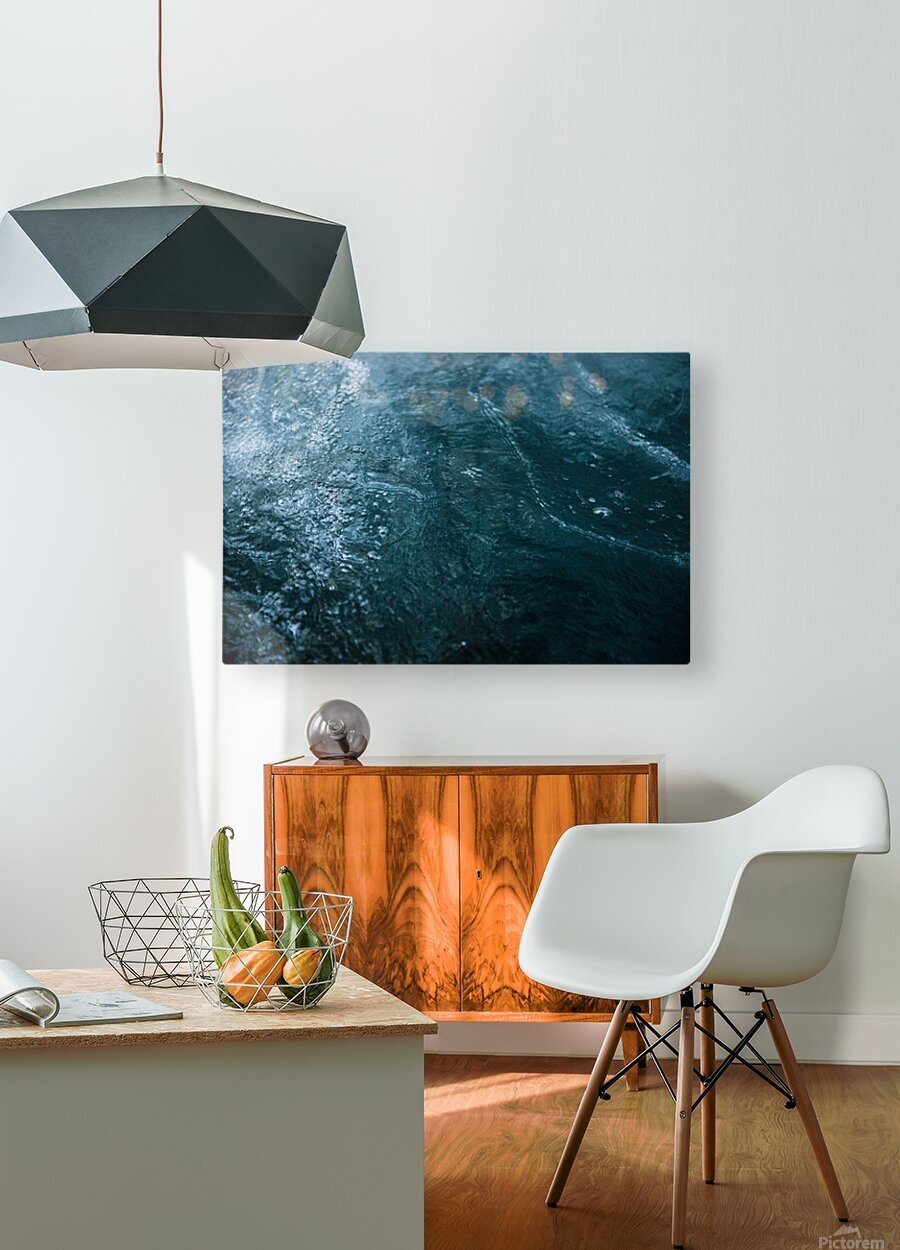 Mckenzie River  HD Metal print with Floating Frame on Back