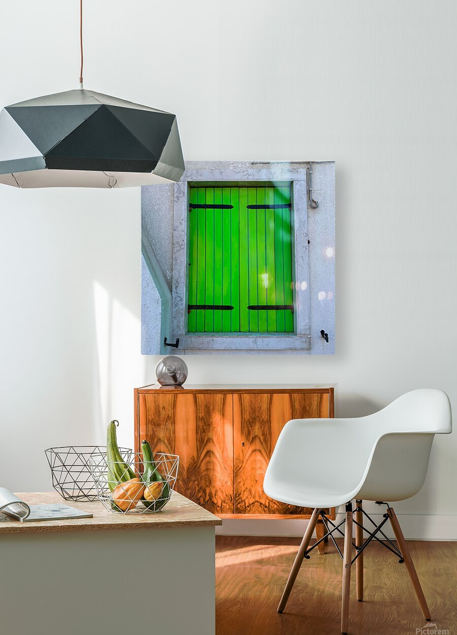 Windows of the World  HD Metal print with Floating Frame on Back