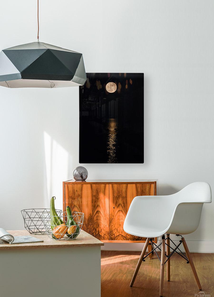 Holiday Magic - Lunar Art by Jordan Blackstone  HD Metal print with Floating Frame on Back