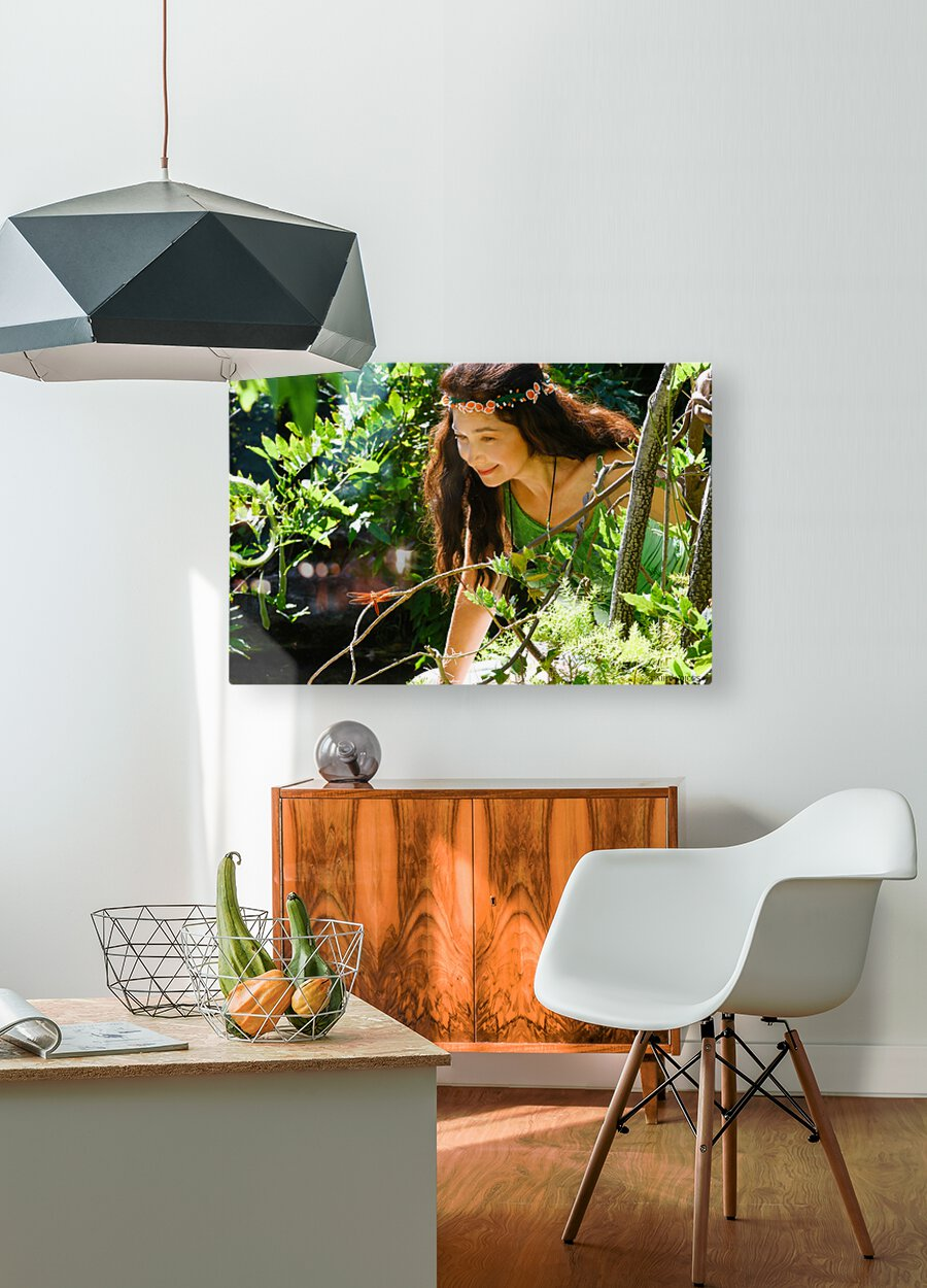 THE TINY MESSENGER collection 2-4  HD Metal print with Floating Frame on Back