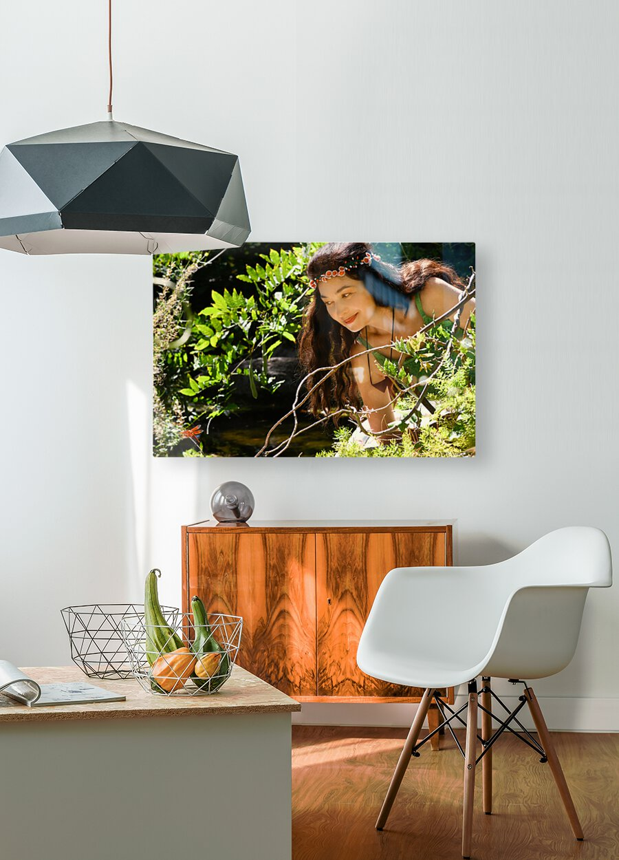 THE TINY MESSENGER collection 1-4  HD Metal print with Floating Frame on Back