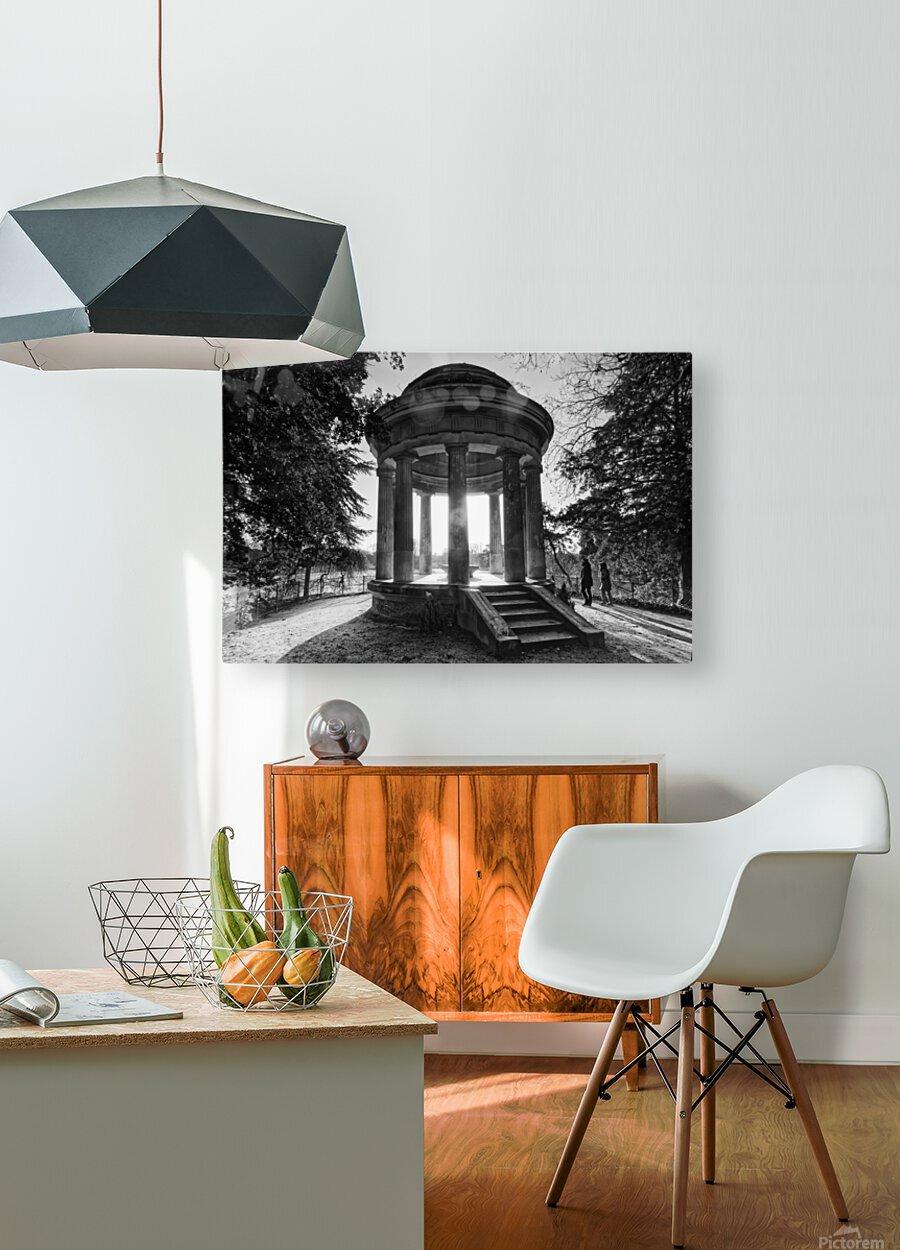 Temple of Love  Impression métal HD avec cadre flottant sur le dos