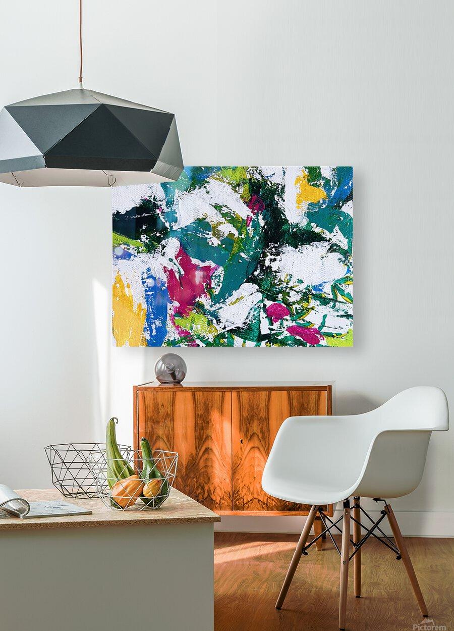 Tropical - Horizontal  HD Metal print with Floating Frame on Back