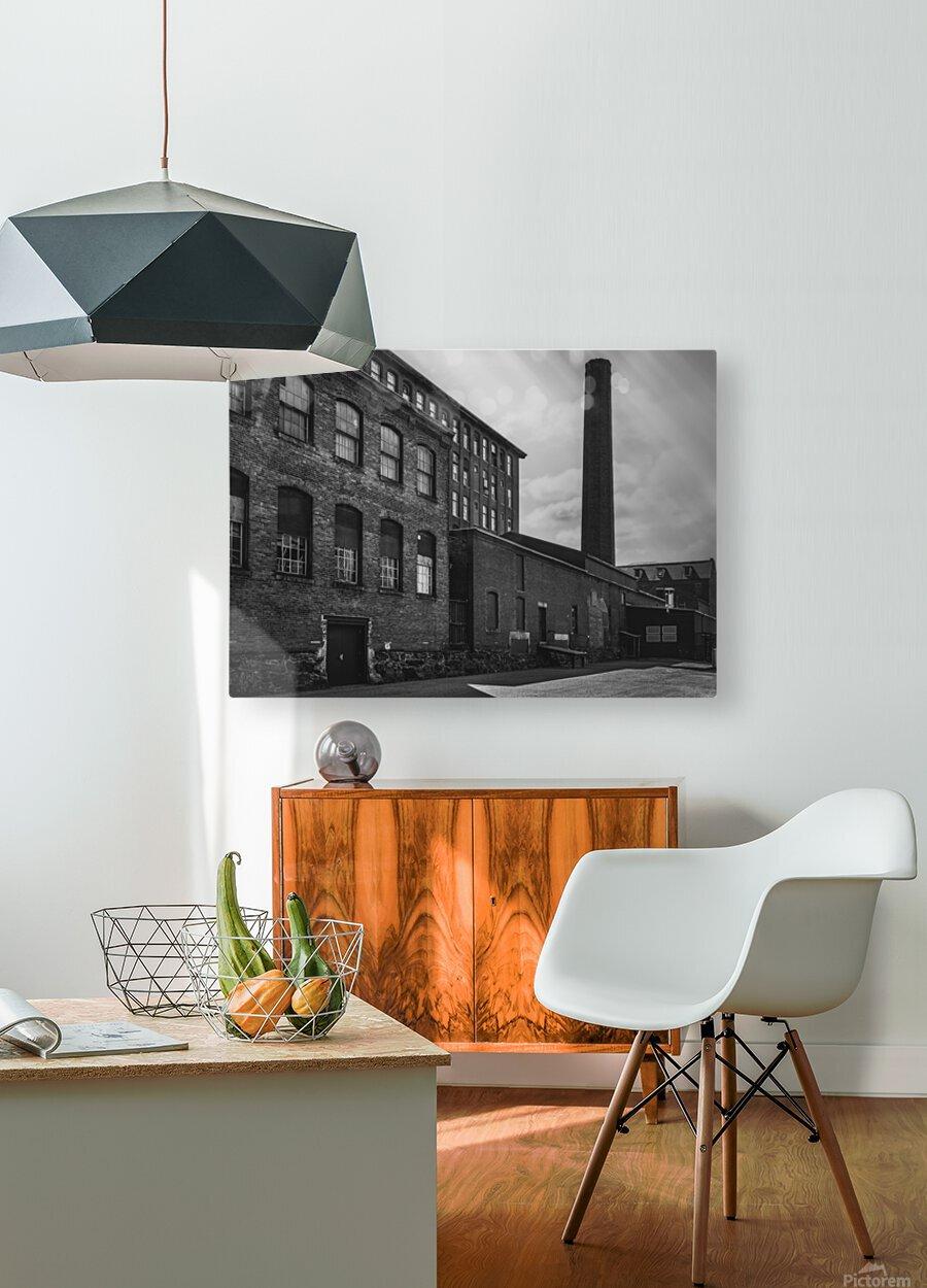 SMOKESTACK NUMBER ELEVEN  HD Metal print with Floating Frame on Back