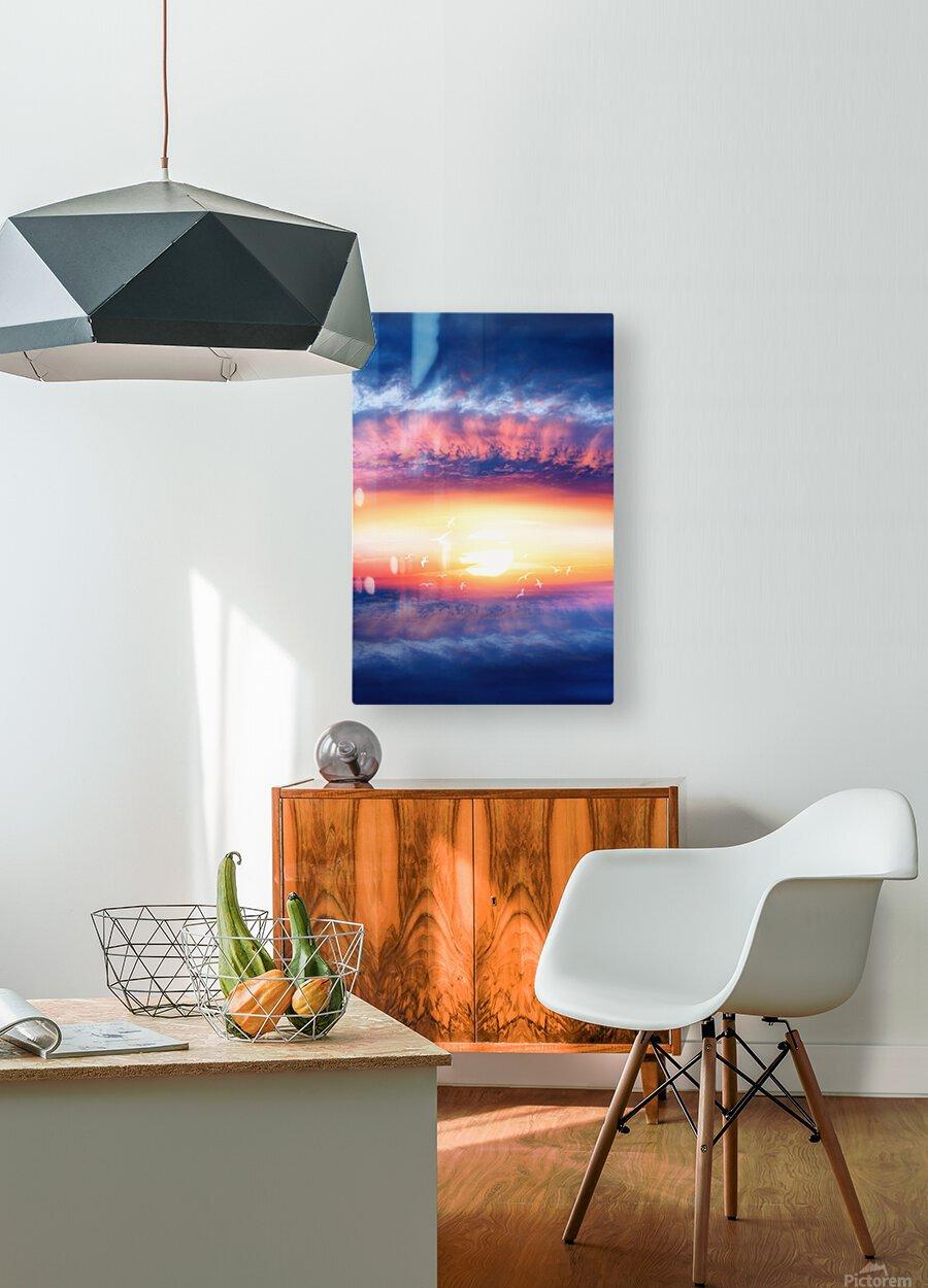Dream Art III  HD Metal print with Floating Frame on Back