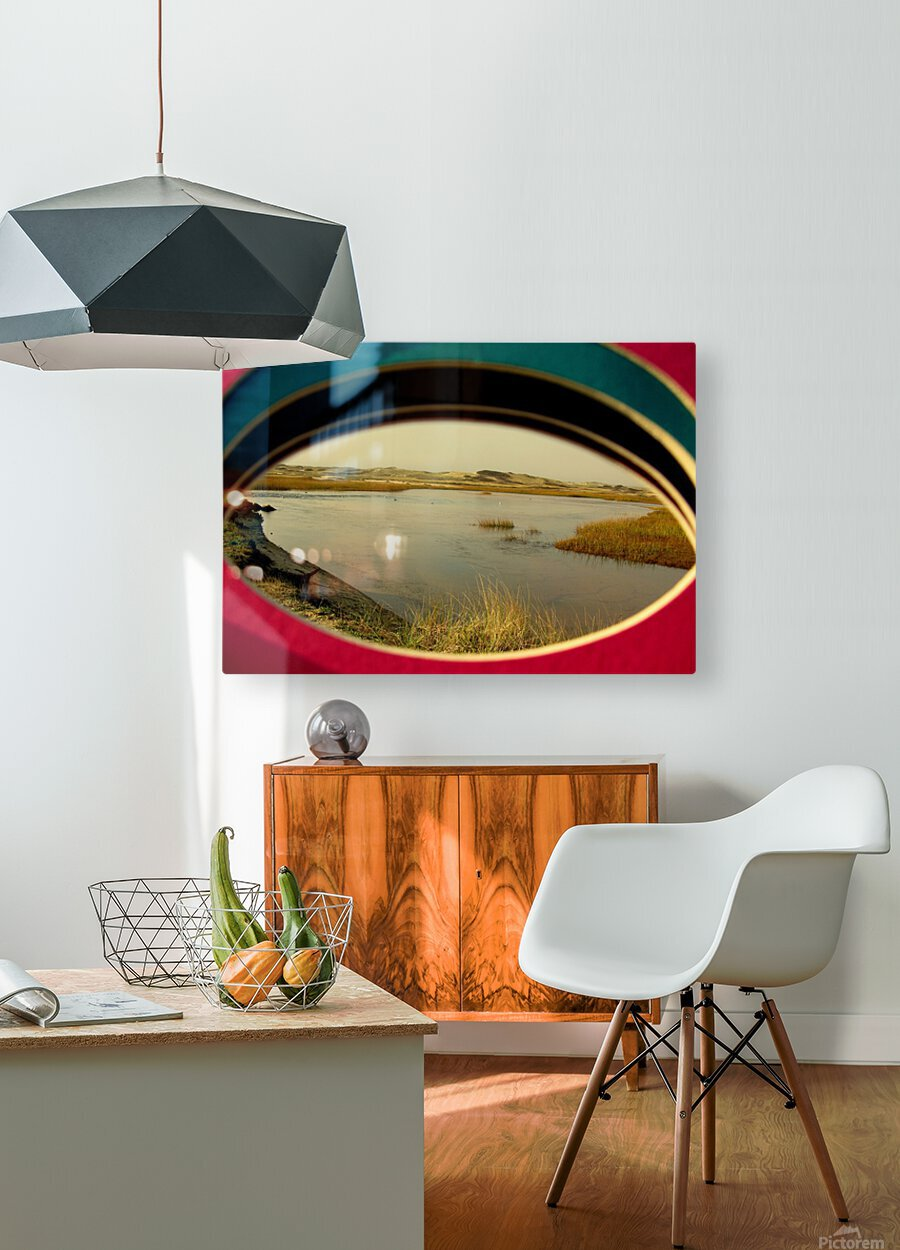 Eyeing the Cape  HD Metal print with Floating Frame on Back