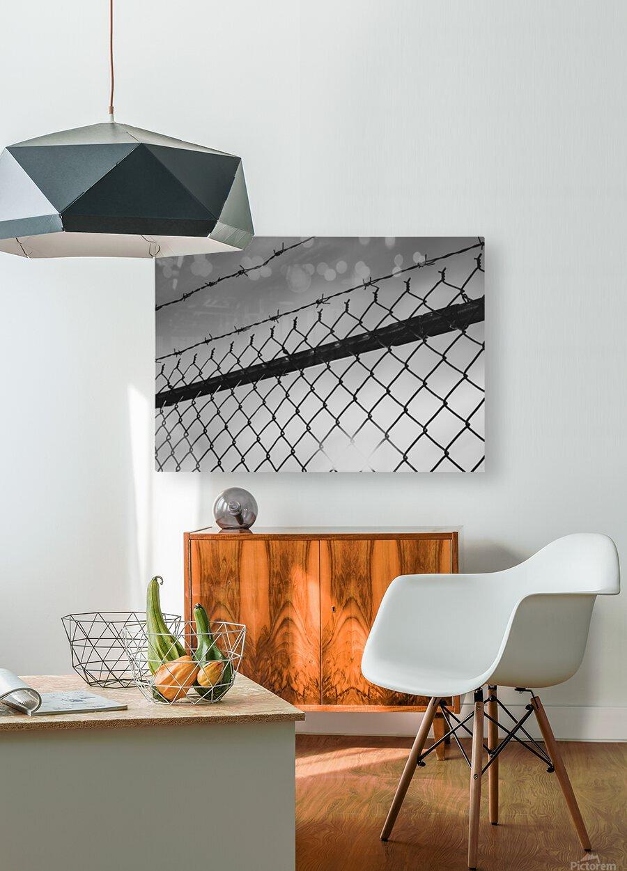 Sunspot  HD Metal print with Floating Frame on Back