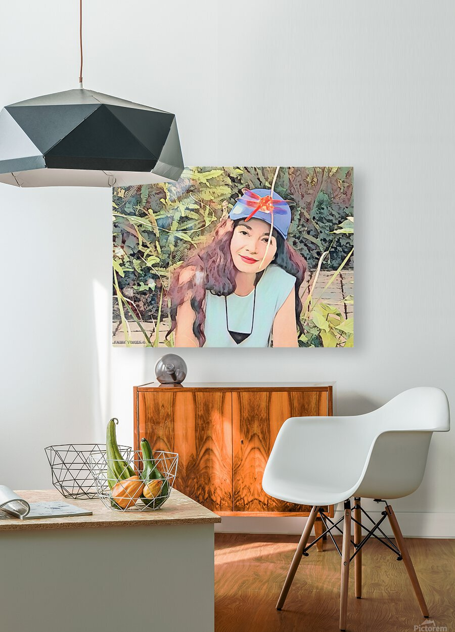 YOU ARE MY JEWEL -Art-Photo  2-5  HD Metal print with Floating Frame on Back