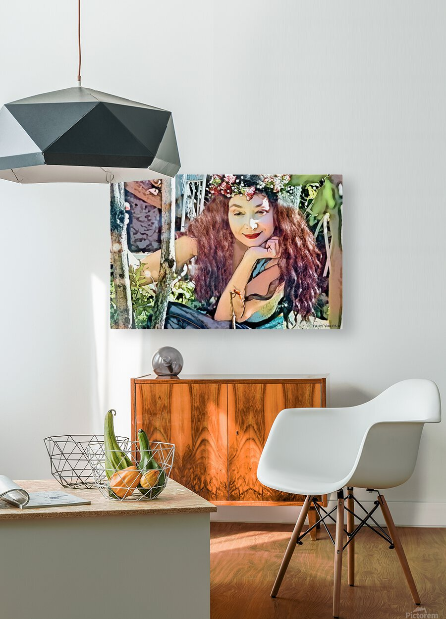 A TINY BEING WITH A BIG MISSION  Photo - Art Collection  1-6  HD Metal print with Floating Frame on Back