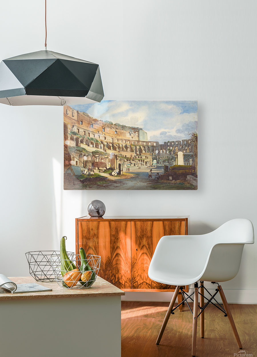Colosseum, Rome  HD Metal print with Floating Frame on Back