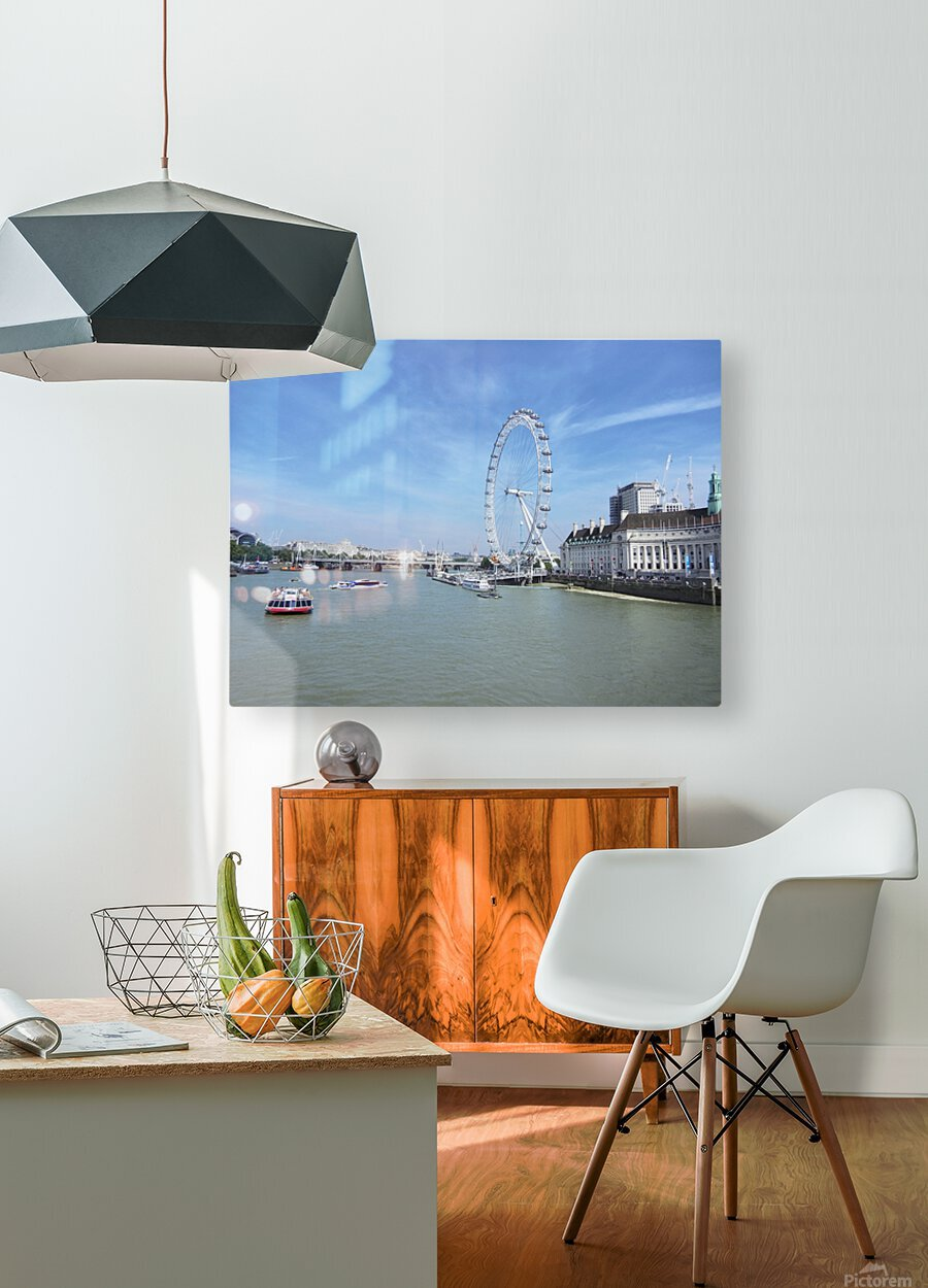 Snapshot in Time Quintessential London 4 of 5  HD Metal print with Floating Frame on Back