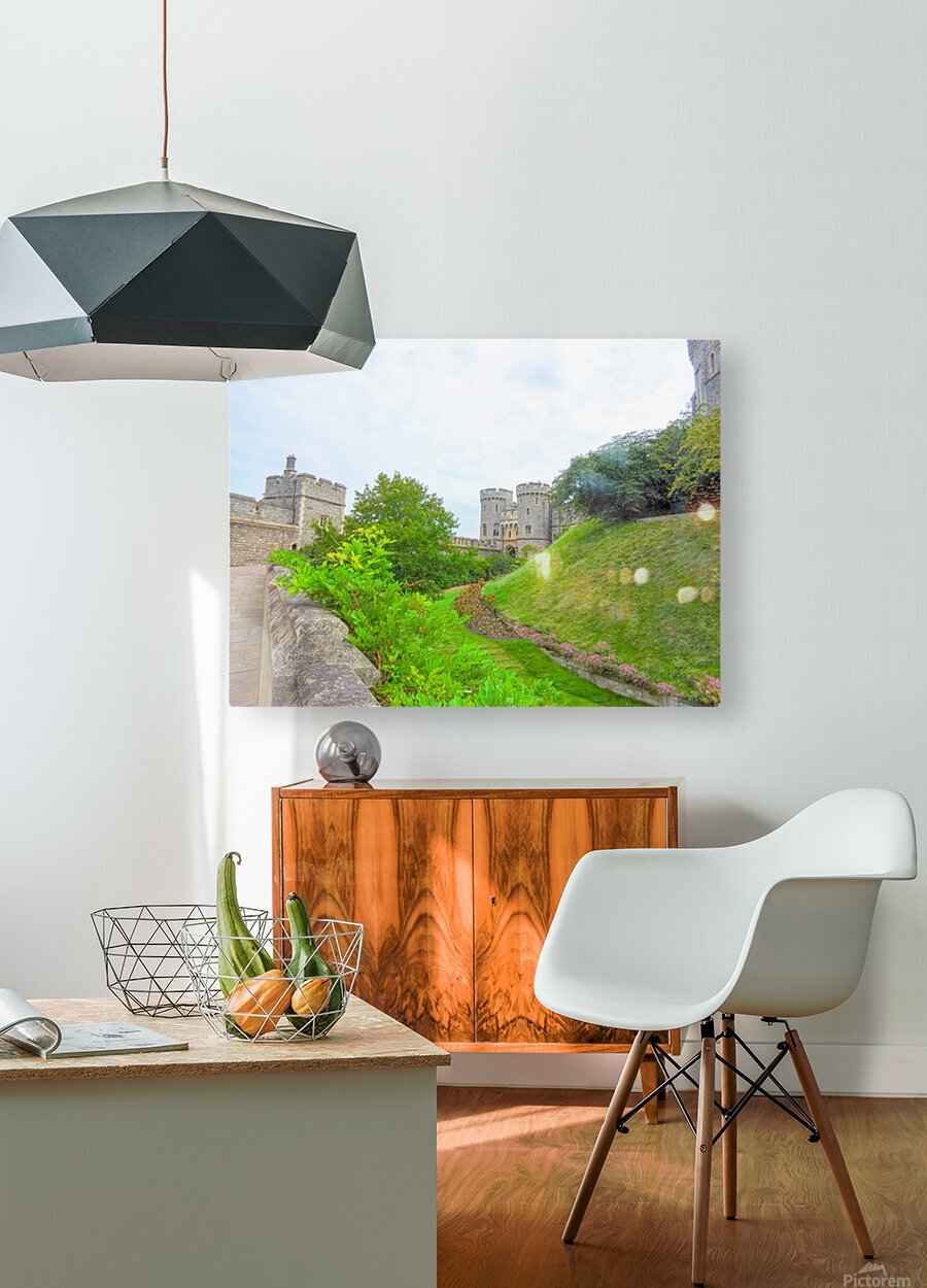 Windsor Castle 2 - Berkshire United Kingdom  HD Metal print with Floating Frame on Back