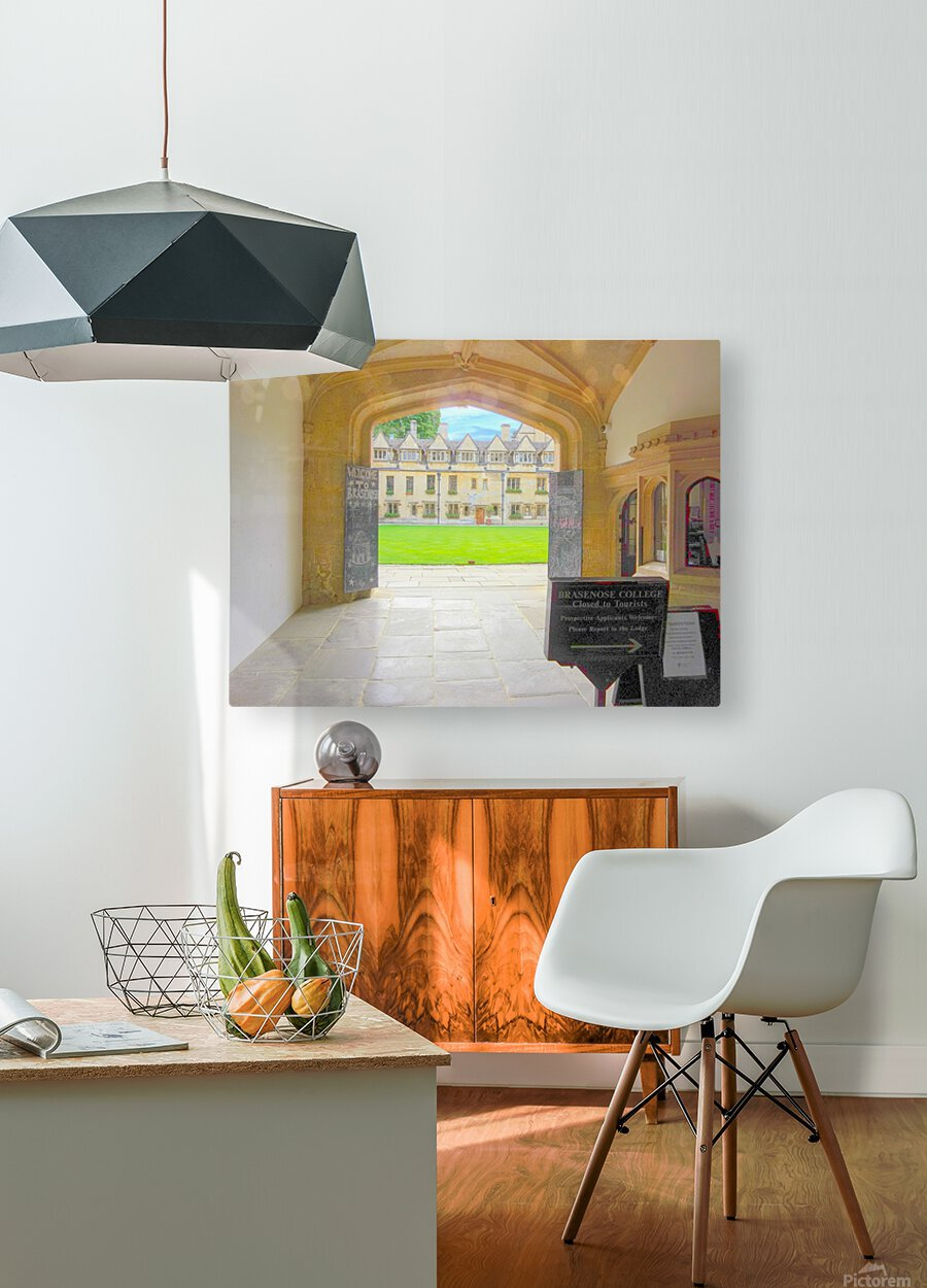 Snapshot in Time Presents a Visit to Oxford 4 of 8  HD Metal print with Floating Frame on Back