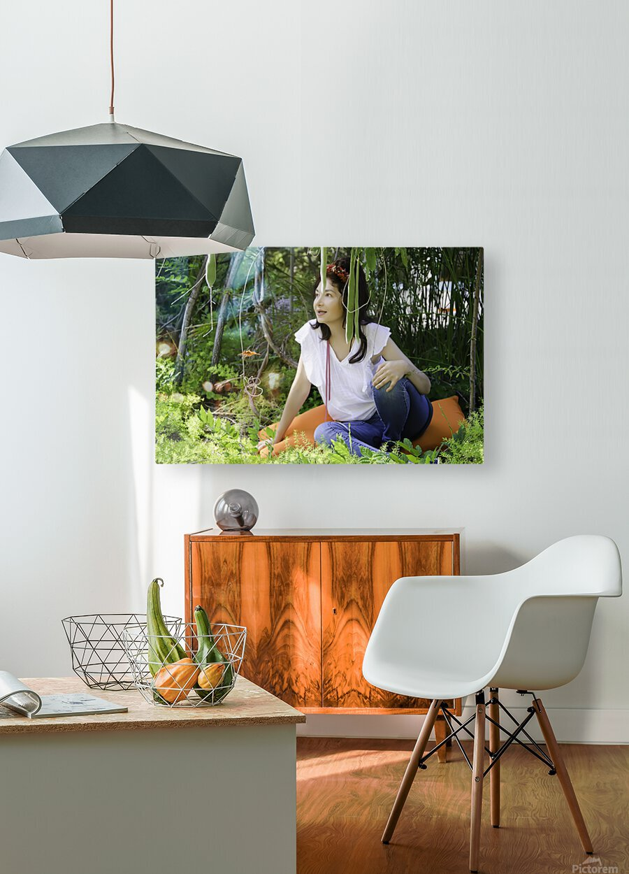 TELL ME MORE...Collection 3-6  HD Metal print with Floating Frame on Back