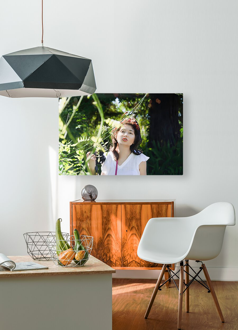 TELL ME MORE...Collection 5-6  HD Metal print with Floating Frame on Back