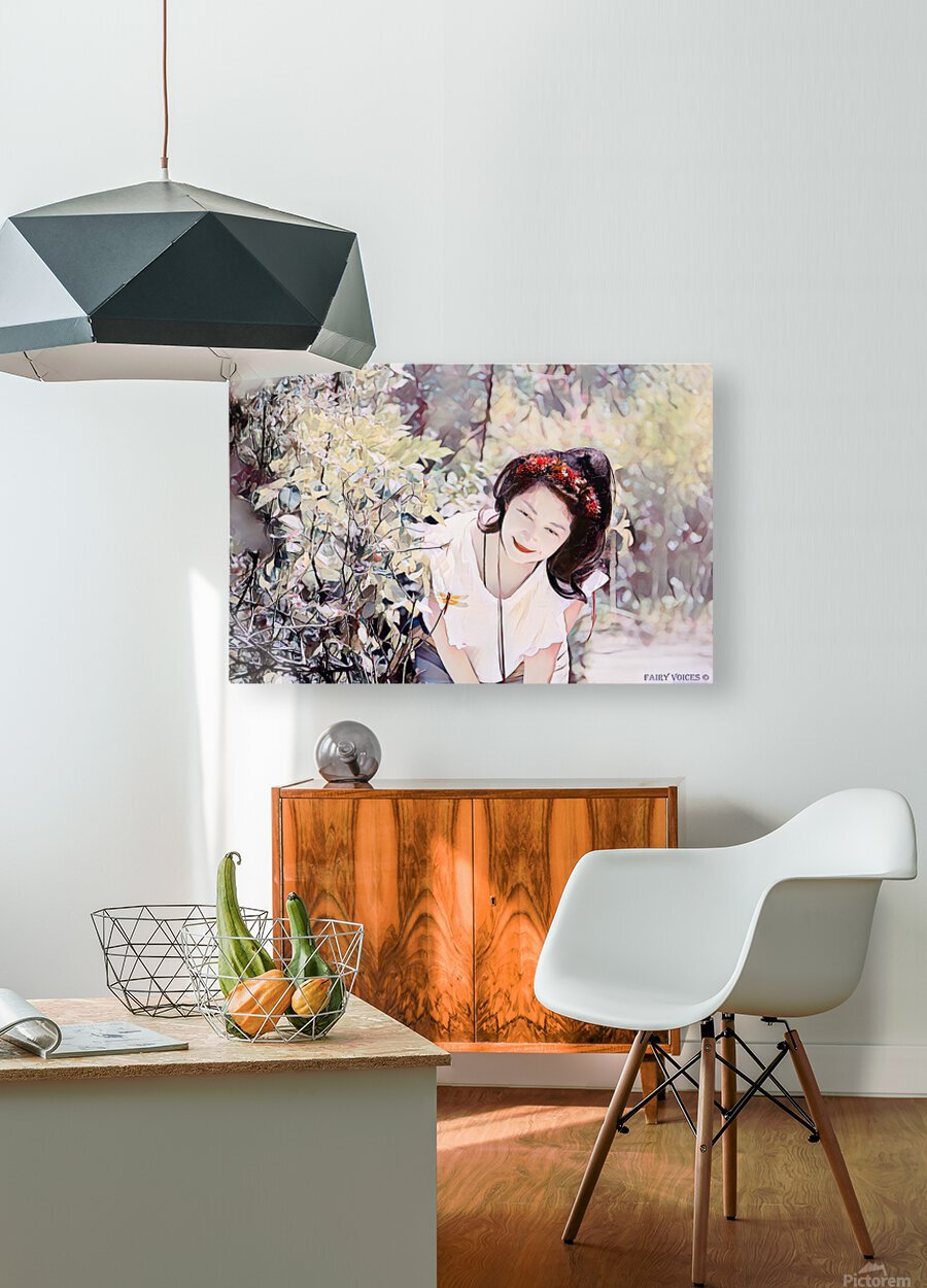 TELL ME MORE Art -Photo Collection  1-6  HD Metal print with Floating Frame on Back