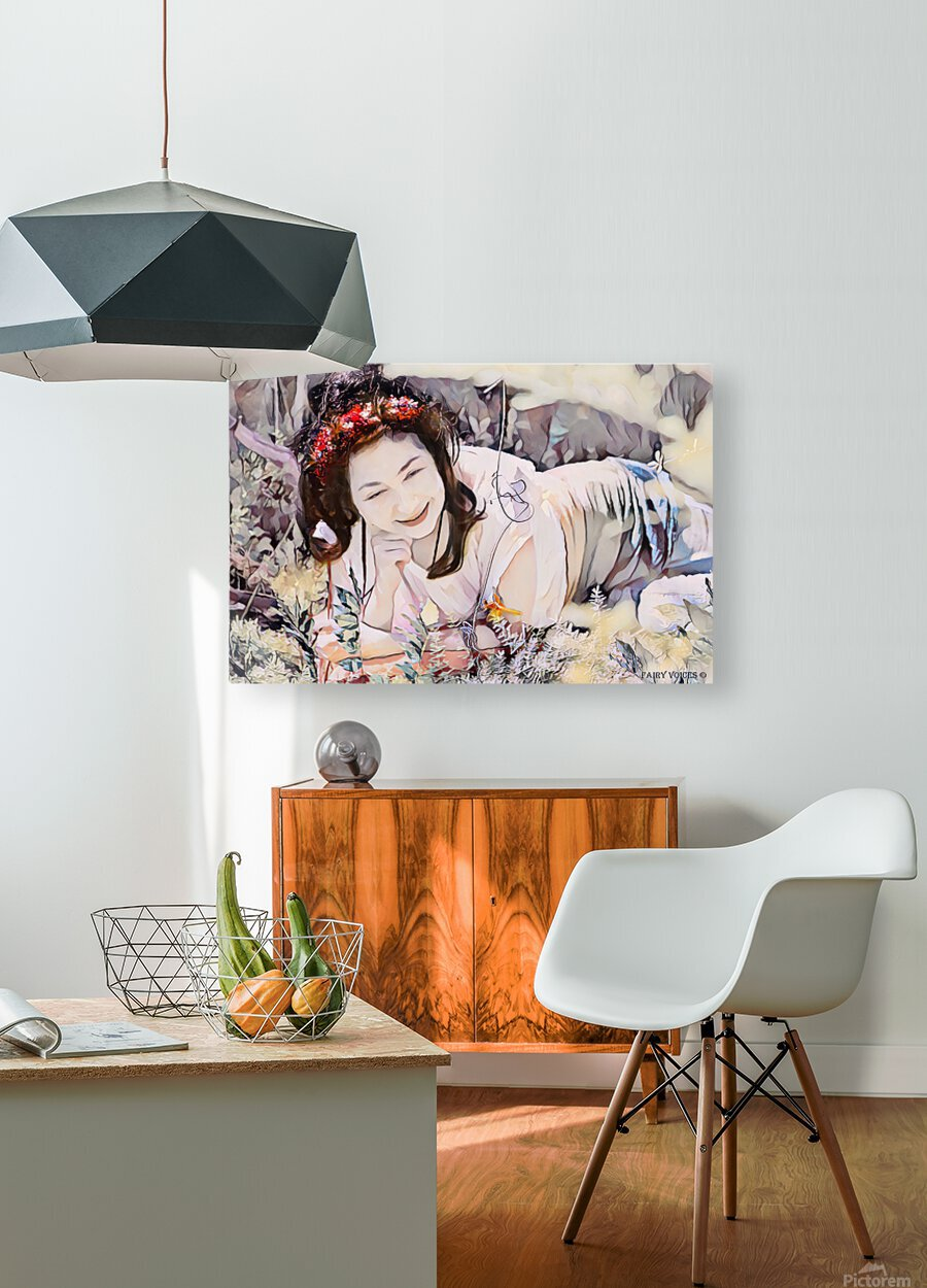 TELL ME MORE Art -Photo Collection  2-6  HD Metal print with Floating Frame on Back