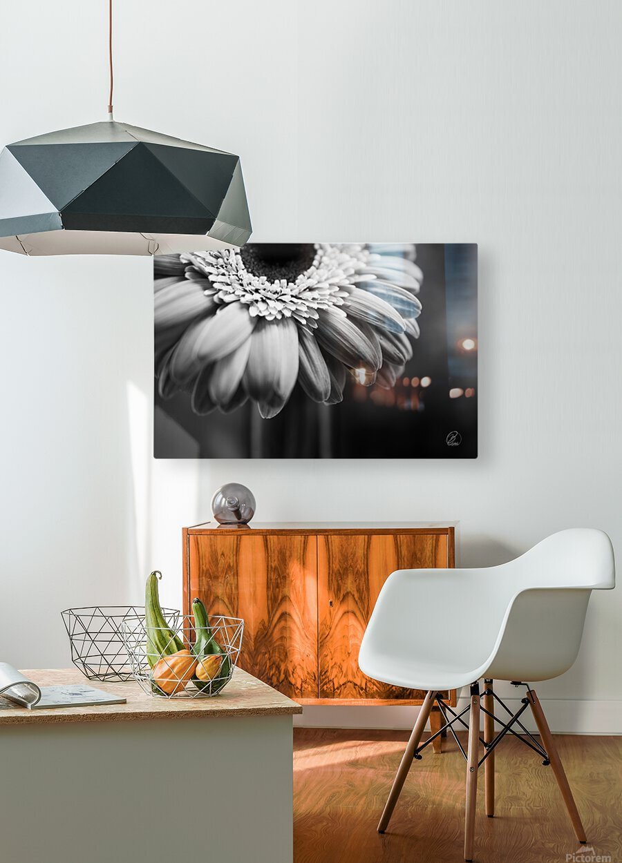 Ill Be There  HD Metal print with Floating Frame on Back