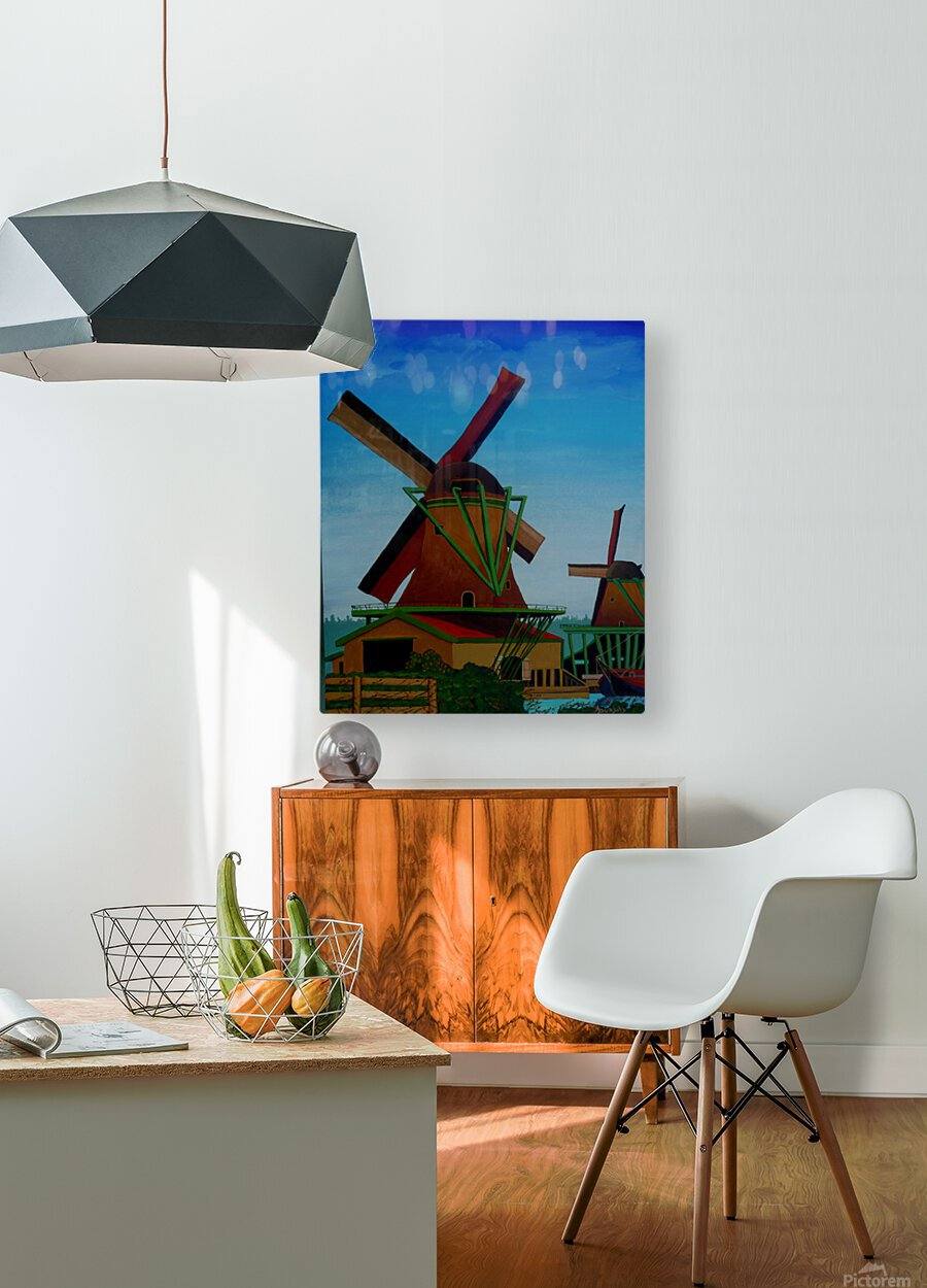 Catching The Wind  HD Metal print with Floating Frame on Back