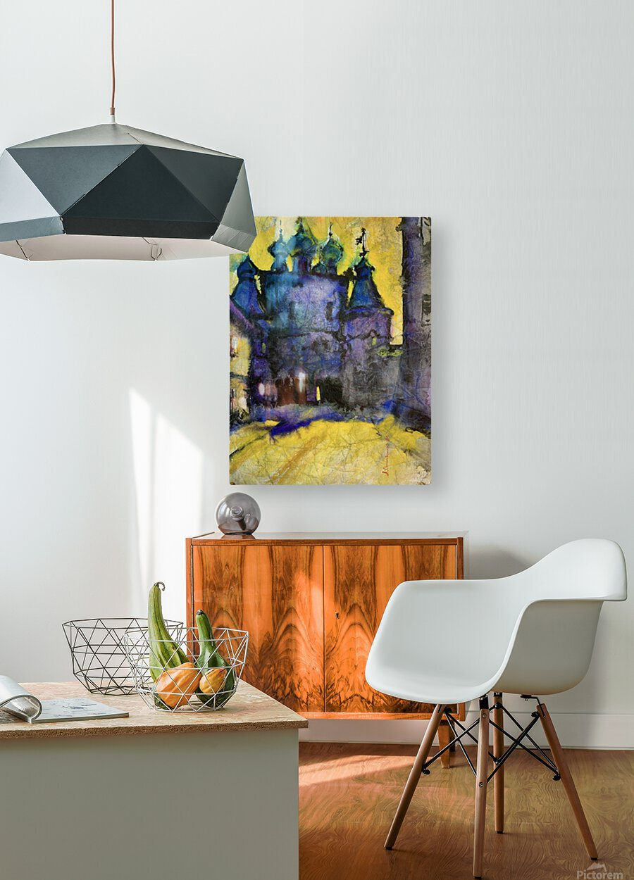 Monastery  HD Metal print with Floating Frame on Back