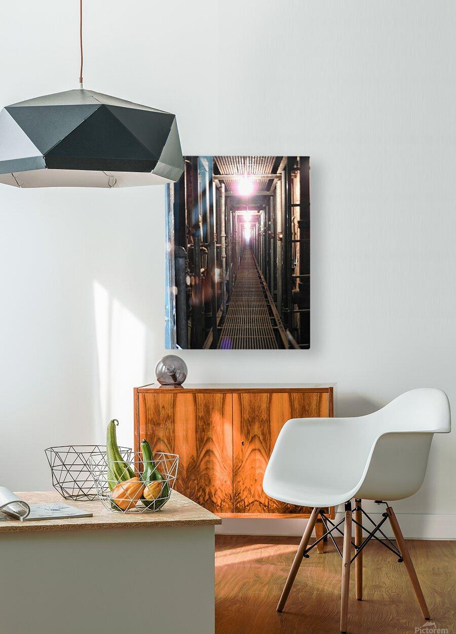 Plumbers Nightmare  HD Metal print with Floating Frame on Back