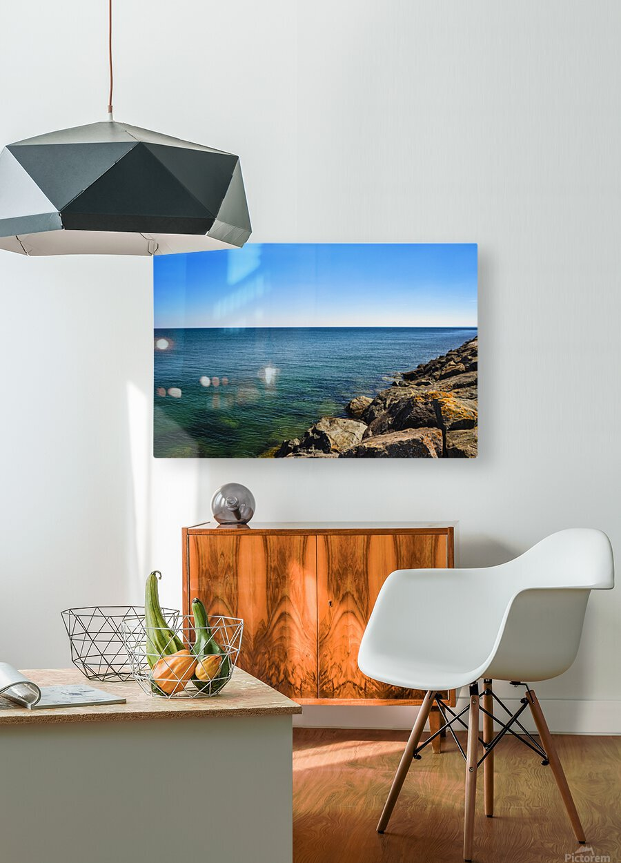 Tranquil Waters  HD Metal print with Floating Frame on Back