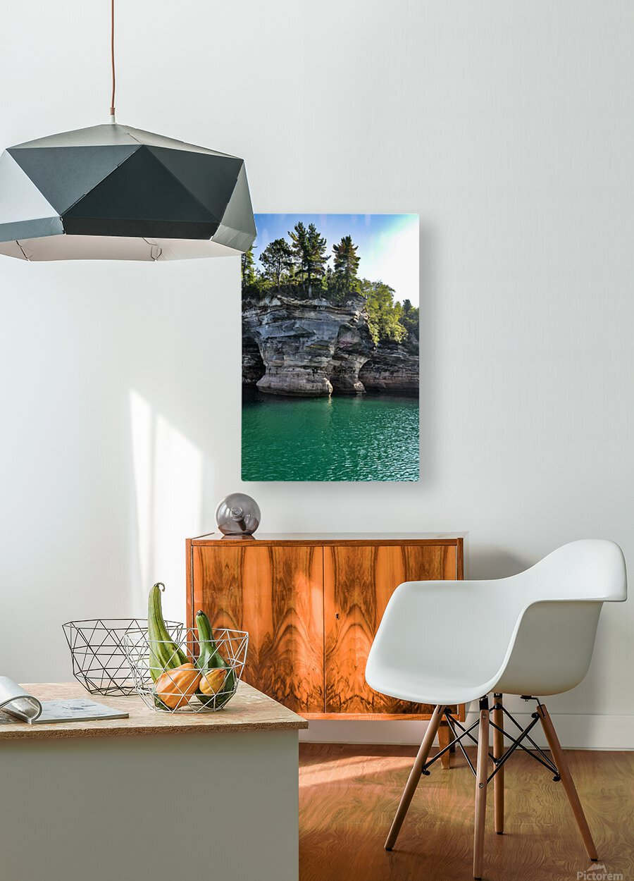 0720  HD Metal print with Floating Frame on Back