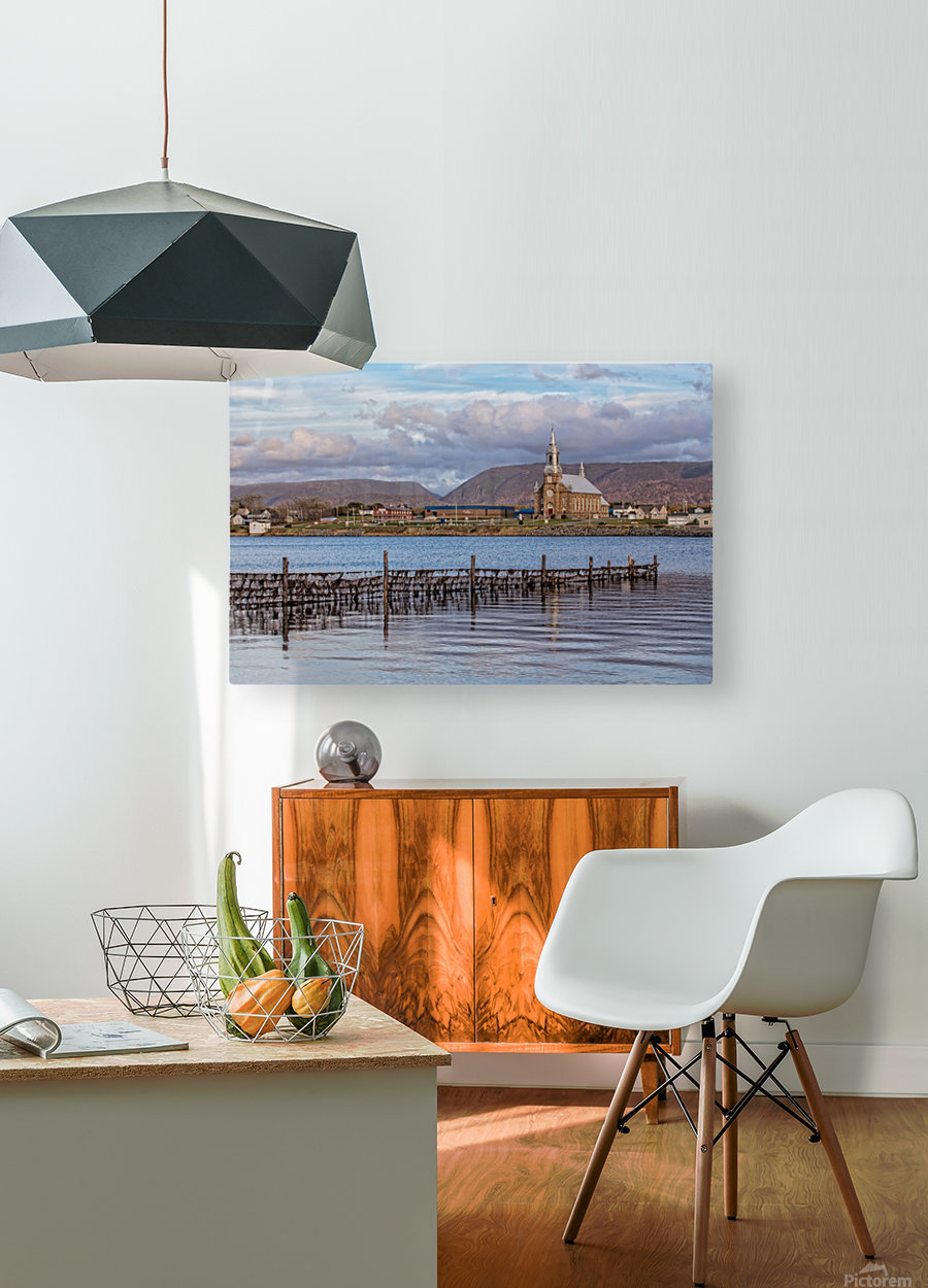 Cheticamp - A placed called home.  HD Metal print with Floating Frame on Back