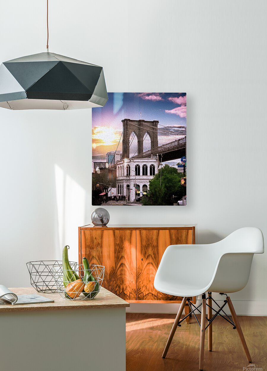 Dumbo  HD Metal print with Floating Frame on Back