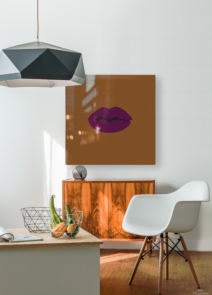Dark Cherry  HD Metal print with Floating Frame on Back