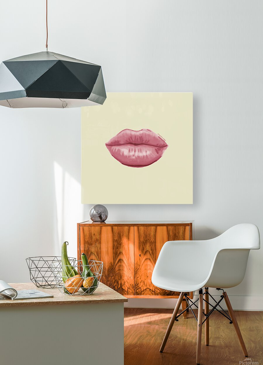 Shhh  HD Metal print with Floating Frame on Back